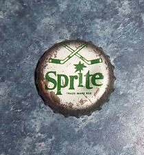 Sprite Caps Hockey 1965-66 Crossed Sticks Player Johnny Bower send in contest
