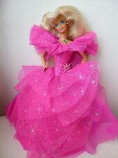 barbie happy holidays rose de noel 1990