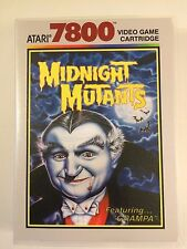 Midnight Mutants - Atari 7800 - Replacement Case - No Game