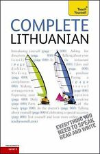 Complete Lithuanian: A Teach Yourself Guide (Teach Yourself Language)-ExLibrary