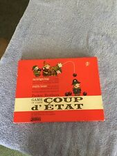 Coup d'etat (1966) DICE CARD Board Game Mint Complete