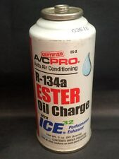 A/CPro R-134a Ester Oil Charge w/ Ice Auto Air Conditioning Performance Enhancer