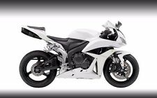 Gloss White Complete Fairing Injection for 2007-2008 Honda CBR 600 RR 600RR