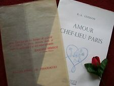 "GUEDON R.A. "" AMOUR "" CHEF LIEU PARIS 1951 ( illustrations de  TOUCHAGUES )"