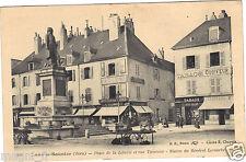 39 - cpa - LONS LE SAUNIER - Place de la Liberté