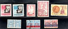 stamps CHILE A179(2) AP64 AP73 AP75 PT1(3) LOT