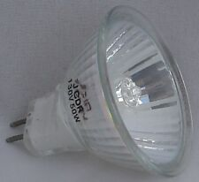 6 pcs. JCDR+C MR-16(w/cover) G5.3  50W 130V Flood Wide Beam Halogen Light Bulb