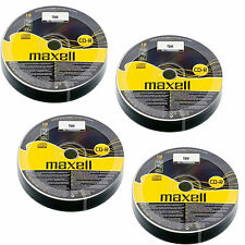40 Maxell CD-R Discs Recordable 700 MB 80Min (52x) CDR Data & Music Shrink Wrap