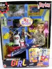 NIB BARBIE DOLL 2000 GENERATION GIRL MY ROOM BARBIE