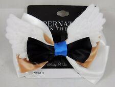 New Supernatural Castiel Angel Wings Hair Bow Tie Clip Pin Cosplay Dress-Up