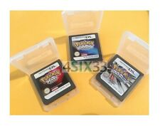 3 Games Pokemon Platinum * Pokemon Diamond * Pearl * DS DS Lite DSi DSiXL 3DS