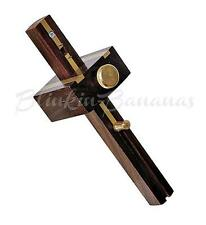 PROFESSIONAL HEAVY DUTY HARDWOOD BRASS WOODWORK CARPENTERS MORTICE MARKING GAUGE