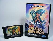 Alisia Dragoon para Sega Mega Drive-sólo MD módulo y en su embalaje original sin instrucciones
