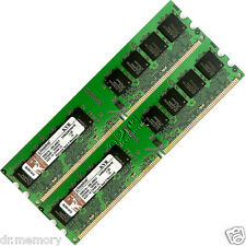 Memoria Ram De 240 Pins Para Pc Escritorio 2GB(2x1GB) DDR2-533 PC2-4200 No ECC