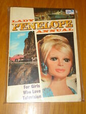 LADY PENELOPE BRITISH ANNUAL 1968 THUNDERBIRDS FN+