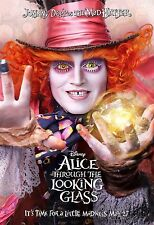 ALICE THROUGH THE LOOKING GLASS MANIFESTO DISNEY JOHNNY DEPP THE MAD HATTER