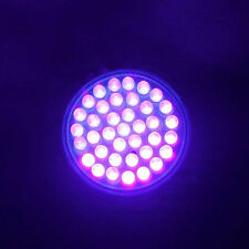 220V 38LED Plastic Ultra Bright UV Ultraviolet Purple Light Lamp Bulb Bedroom