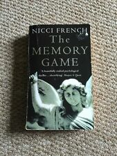 The Memory Game, By Nicci French Paperback Book Thriller