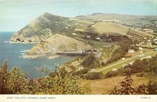 BR66335 combe martin  great and little hangman uk 14x9cm
