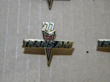 1977 PONTIAC TRANS AM EMBLEM   Hat / Lapel  Pin