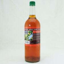 Vintage Apple Cider Vinegar with Mother - 1 Litre Glass Bottle - Pure Unfiltered