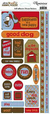 Reminisce DOG PHRASES Cardstock Stickers scrapbooking 99 CENT SALE!