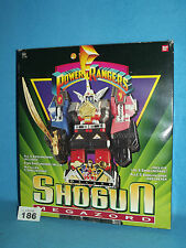"POWER RANGERS MIGHTY MORPHIN DELUXE "" SHOGUN "" MEGAZORD 100% 186"