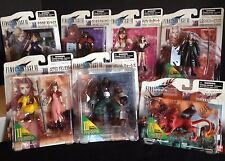 1997 BANDAI FINAL FANTASY VII  7 FIGURE SET LOT SQUARE SOFT VIDEO GAME SONY S-51