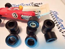 SCALEXTRIC 8 urethane tyres F1  -IRL