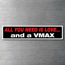 Buy a V Max sticker High quality 7year water & fade proof vinyl motor bike