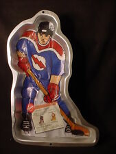 Wilton HOCKEY PLAYER  MAN cake pan ICE SPORTS baking mold tin INSERT field jello