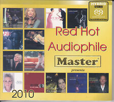 """""""Red Hot Audiophile 2010"""" Master Music Hybrid SACD Made in Germany CD New Sealed"""