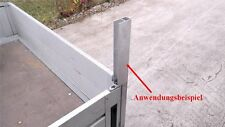 Alu Spriegel End Profil 70cm 0,7m (8€/m) Bordwand Spriegelbrett