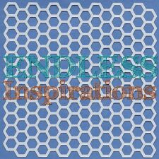 "6""x6""Endless Inspirations Stencil, Honeycomb 1 - Free US Shipping"