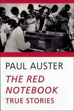 The Red Notebook: True Stories, Auster, Paul, Good Book