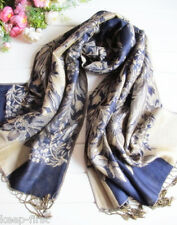 New Women's Fashion 100% Cashmere Pashmina Soft Warm Wrap Shawl Scarf