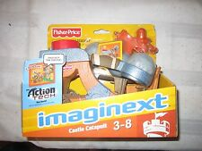 Fisher Price Imaginext Eagle Talon Castle catapult action tech weapon new toy