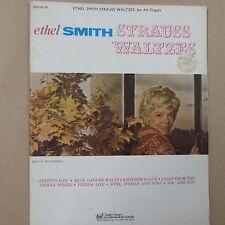 all organ ETHEL SMITH Strauss Waltzes