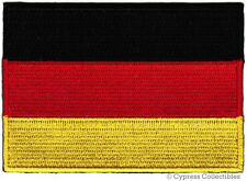 GERMAN HERITAGE BIKER PATCH GERMANY EMBROIDERED FLAG iron-on Aufnäher iron-on