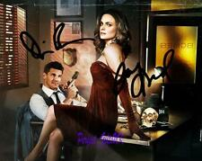 Bones Emily Deschanel David Boreanaz SIGNED AUTOGRAPHED 10X8 REPRO PHOTO PRINT