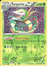 POKEMON LEGENDARY TREASURES - RADIANT COLLECTION - SERPERIOR RC3/RC25 HOLO