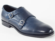 New Baldinini Navy Leather Shoes Size 42 US 9