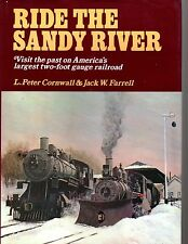 Ride the Sandy River, the largest two-foot gague railroad, Pacific Fast Mail '73