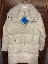 Columbia Varaluck II Mid Down Jacket Women's L Off White $175 NWT New WL5083-125