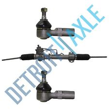 Complete Power Steering Rack And Pinion  2 NEW Outer Tie Rods Lexus Toyota