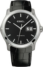 NIB Ebel Classic Hexagon Big Date, 1216008, MSRP:$3950, Authorized Dealer,10 Pic