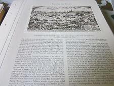 Wien Archiv 1 Geschichte 1027 Türkenbelagerung 1529 A. Ortelius