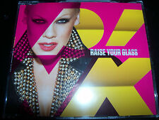Pink Raise Your Glass / U + UR Hand Live EU CD Single - NEW