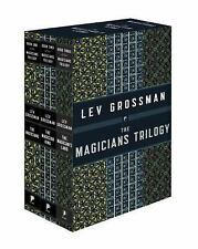 The Magicians Trilogy Box Set by Lev Grossman (Paperback) NEW, Sealed FREE SHIP