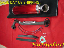 High Performance Racing Exhaust Muffler System CG 200cc 250cc ATV Quad E159